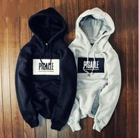 Wholesale brand clothing thrasher skateboards men women hoodies PIGALLE print Full Sleeves Hip Hop Mens Sweatshirts trasher hoody