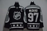 al por mayor pacific-# 97 Connor McDavid 2017 All Star Premier Jerseys de Hockey Pacific Division Jerseys de Hockey Negro Edmonton Oilers # 97 Connor McDavid Jersey