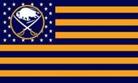 Wholesale Buffalo Sabres flag ftx5ft Banner D Polyester Flag metal Grommets