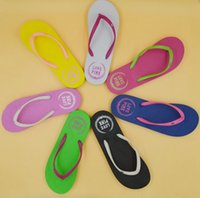 black women s slippers - New puppy Woman word drag Summer colorful beach shoes Hand slippers slippers Code number S M L