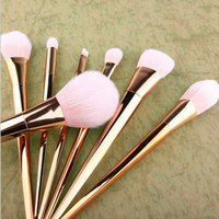 Wholesale 2016 NEW Techniqueing Makeup Brushes Set Synthetic Hair Make Up Brushes Tools Cosmetic Foundation Brush Kits free shpping DHL