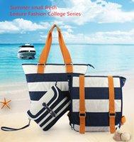 Wholesale New Shoulder Bags Shoulder Bag Diagonal Bags Waterproof Nylon Backpack Lightweight Canvas Travel Bag Student Bags Set Sailor Pack