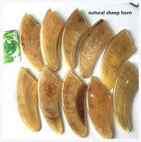 Wholesale Scrapping Ox Sheep Horn Plate Massage Facial Therapy Tool Tradition Chinese Health Care Tool Gua Sha Ban hand made natural ox sheep horn