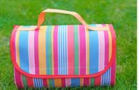 Wholesale New Fashion Hot style creative outdoor camping picnic Folding sit crawling mat moisture beach mat manufacturer