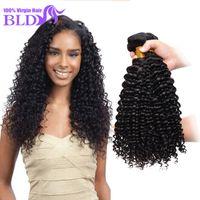 Wholesale 3 Bundle A Peruvian Deep Wave Virgin Hair Unprocessed Peruvian Virgin Hair Cheap Peruvian Deep Wave Human Hair Bundle
