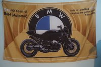baseball man cave - BMW Bike years of Motorrad Flag Banner Garage Man Cave Banner Flag X5Ft Custom America USA Team Soccer College Baseball Flag