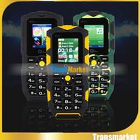 Imperméable à l'épreuve des chocs téléphone mobile arabe russe clavier double carte SIM Banque d'énergie sans fil FM lampe de poche OEINA XP1 téléphones cellulaires