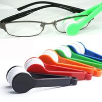 La limpieza de lentes de gafas Baratos-2017 nueva lente de envío de DHL de la lente de Microfibre del limpiador de los anteojos de los anteojos de la lente esencial