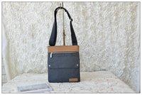 Купить Холст для продажи-Бесплатная доставка новых прибытия горячей продажи Unisex холст с PU джинсовой моды цвет Кроссбоди сумка сумка