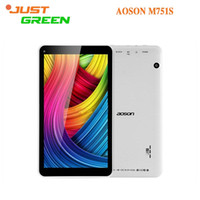 aoson tablet pc - AOSON New Original Tablet PC inch PAD M751S Allwinner A33 Quad Core RAM MB ROM GB Android WIFI Version OTG
