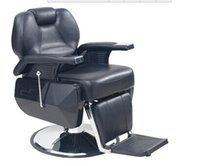 Wholesale Popular hydraulic barber chair with stainless steel armrest cheap black salon chair hair salon equipment for sale