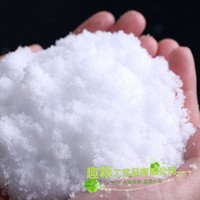 Wholesale 500g Christmas Decoration DIY yourself make Snow Instant Artificial Powder Artificial Pretend Fake Insta Snow Christmas Tree Decoration
