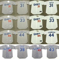 Wholesale Men s Women Youth Los Angeles Dodgers MIKE PIAZZA ERIC DAVIS ERIC GAGNE RAUL MONDESI DARRYL STRAWBERRY Jersey Stitched