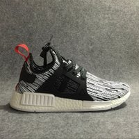 Wholesale Discount Best Quality NMD XR1 Glitch Black White Blue Camo Pack Ultra Boost Men Women Sports Running Shoes Size Eur36