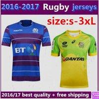 australia football jersey - 2016 Scotland Rugby Jersey New Zealand first leader warriors Australia rugby team super football jersey size S XXXL