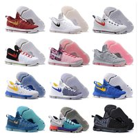 basketball shoes low - 36 Colour Air Zoom KD Mens Basketball Shoes KD9 Oreo Grey Wolf Kevin Durant s Men s Training Sports Sneakers Warriors Home US Size