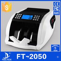 bank counting machine - V V EU US PLUG New LCD Display Money Bill Counter Counting Machine Counterfeit Detector UV MG Cash Bank
