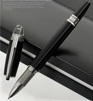 Wholesale Luxury MB Black Resin Roller ballpoint Pen Hot Sell Blance Brand Writing Pen Cute Pens With Number