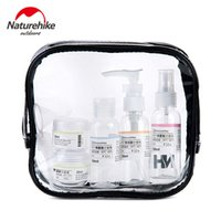 bags spray bottle - NatureHike set Travel Cosmetics Container Bottle Set Pro Travel Bottle Wash Bag Cosmetic Spray Shampoo Points Bottling Kit