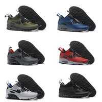 Wholesale Hot Selling Drop Shipping Famous Cushion Mid Winter Boots Mens Athletic Sneakers Sports Running Shoes Air Size