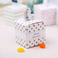 baby delivery gifts - Cute Special Delivery Baby Shower Candy Box Boy Girl Gift Boxes Wedding Decoration Faovrs Design New