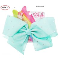 Girl accessories for dance - 3style available JOJO Inch Girls Dancing Big Hair Bows grosgrain Ribbon Bowknot For School BABY Children Hair accessories Colors