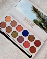 Wholesale Kylie Cosmetics Jenner Kyshadow eye shadow Kit The Royal Peach Palette Eyeshadow BRONZE and BURGUNDY Palette Cosmetic