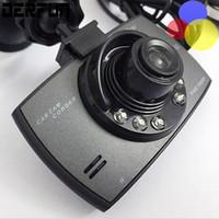 Cámaras de lentes de porcelana España-Cámara de coches camara grabadora 720p hd camara dvr 2.0 '' camera dashcam con lente de foco fijo G30