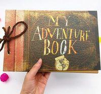 adventure book scrapbook - My Adventure Book Pixar UP Movie Scrapbook DIY Wedding Photo Album Anniversary Gifts Our Adventure Book Scrapbook Album Set