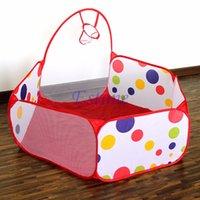 Wholesale Diameter M Portable Kids Room Ocean Ball Childrens Pit Pool Playhut Outdoor Indoor Toy Tent