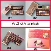 Wholesale NEW arrival Makeup Chocolate Bar Eyeshadow palette semi sweet bonbons sweet peach Color Eye Shadow palette free dhl