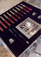 big eyeliner - 2016 kylie holiday edition collection big box makeup set kylie cosmetics lipsticks set eyeliner kyshadow eye cream Christmas gift
