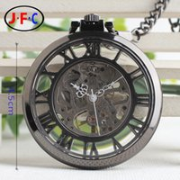 acrylic table cover - Rome classic stereo mechanical pocket watch cover manual chain watch fashion retro male ladies collection table B002