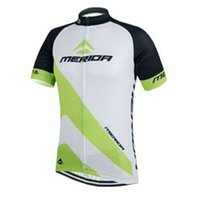 Mérida Pro cycling jersey bicicleta bicicleta ropa manga corta MTB ropa ciclismo maillot Quick Seco Top Camisas españa C2931