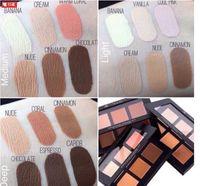Wholesale New In Box Color Matte Bronzer Highlighter Contour Cream Kit CREAM Shades Kit Contour Light Medium deep