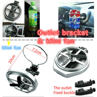 achat en gros de petit support métallique-La nouvelle voiture Outlet Bracket Drink Racks Voiture avec Water Cup Holder Car Drinks Small Fans