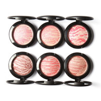 Wholesale Top Quality Professional Cheek Colors Makeup Baked Blush Bronzer Blusher With Brush by Focallure Free shopping