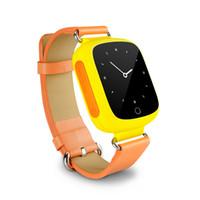 Wholesale SIM Card Intelligent Watch grey orange drop shipping