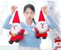 Wholesale Father Christmas Plush Dolls cm cm Santa Claus Plush toys Christmas Gifts Decorations