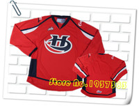 Wholesale 2016 New Design Style Lethbridge Hurricanes Red Hockey Jerseys Custom Stitched Jerseys Accept Any Name and Any Number