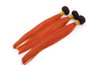 Ombre Peruvian Hair Weave T1b / 350 Cheap Body Wave Virgin Remy Extensions de trame des cheveux humains Deux Tone 3 Bundles 12-26 pouces