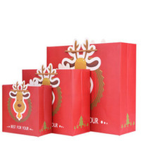 beautiful wrapping paper - Spot new exquisite Christmas gift wrap Christmas Eve apple box Christmas gift bag Can also be used on a beautiful and practical