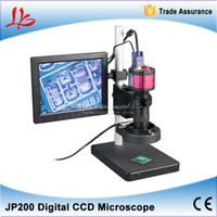 Wholesale JP200 HD digital video CCD microscope suitable for precision metal industrial electronic repair quality test
