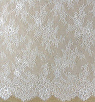 Wholesale cheap white embroidery french lace fabric african with high quality in china