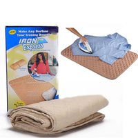 Wholesale IRON Express Portable IRONING PAD Mat For Garment Heat Resistant Non Slip Board Home Supplier DIY Sewing Tool