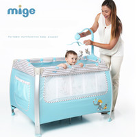 Wholesale Mige meters baby bed multifunctional folding fashion portable game bb baby cradle bed