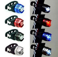Wholesale 5 Colors Aluminium Alloy Bike Bicycle safety warning decoration Led light degree angle lamp Handlebar Frame tube lights G009