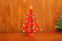 Wholesale The new Christmas tree Christmas decorations wooden desktop small wooden old snowman DIY Christmas tree ornaments promotion