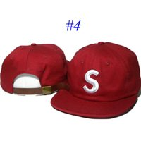 Wholesale Brand New Sup Men Women Hat Ball Caps Adjustable S Embroidery Hats Casual Training Baseball Caps Hats Accessories Mesh Colors