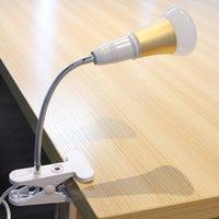 Wholesale E27 Socket Lamp Flexible Extension Clip Adapter On Off Switch US Plug Suitable for LED halogen CFL light bulb lamp LEG_110